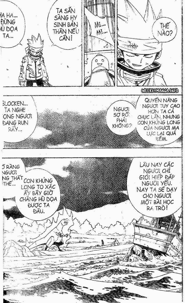 Shaman King [Vua pháp thuật] chap 184 trang 17