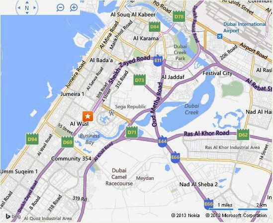 Uae dubai metro city streets hotels airport travel map for Hotels in motor city dubai