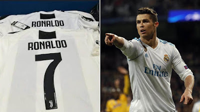CRISTIANO RONALDO TO LEAVE REAL MADRID