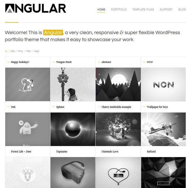 Temas wordpress para fotografos - galerías de fotos y portfolio