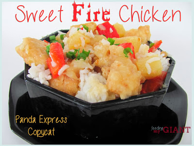 panda express copy-cat sweet fire chicken