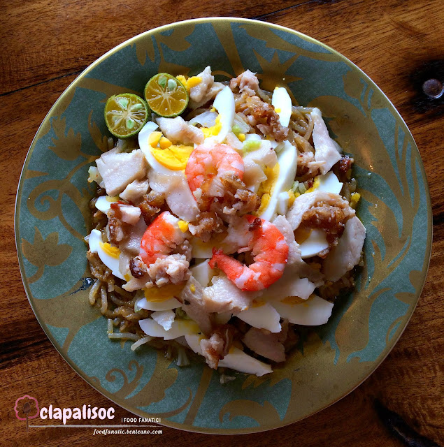 Pancit Malabon from Gabe's Homegrown Dishes