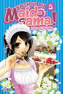KAICHOU WA MAID SAMA 5  Manga de Hiro Fujiwara