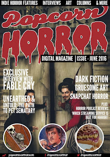 Popcorn Horror Digital Mag #1 Cover