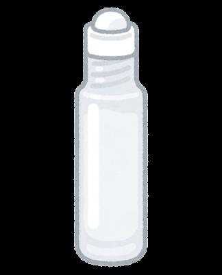 ロールオンボトルのイラスト