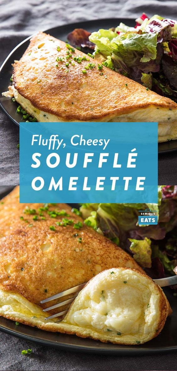 Soufflé Omelette With Cheese Recipe
