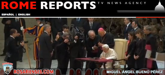 El Papa lanza su primer mensaje en Twitter | Rosarienses, Villa del Rosario