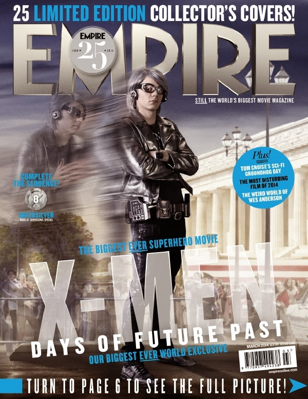 Empire covers X-Men: Days of Future Past: Quicksilver
