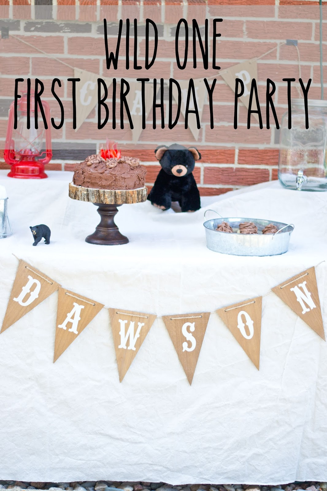 Ideal Party as I kind of blended a few ideas together When I was pregnant with Dawson I found the cutest wall art from Hobby Lobby that