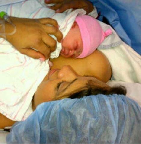 Newborn Baby Delivery