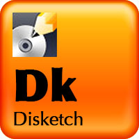 Disketch CD/DVD Label Maker Software