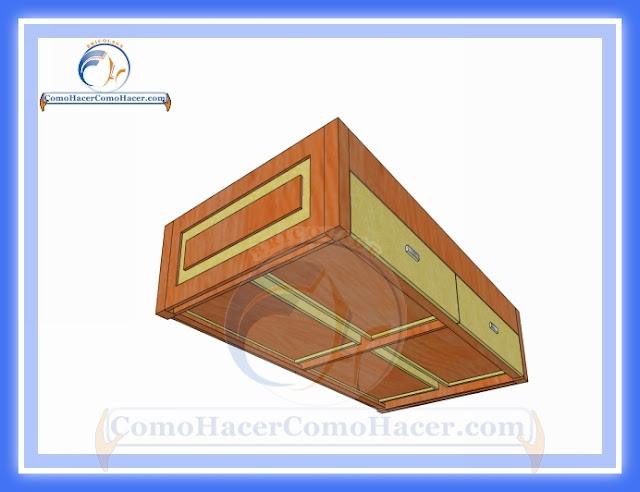 C mo hacer una cama medidas plano gu a construcci n web - Hacer una cama de madera ...