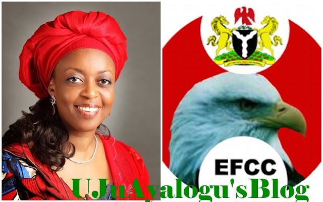 EFCC denies blocking Diezani's attempt to return to Nigeria for trial