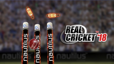 Real Cricket 18 Mod Apk + Data v1.1 Unlimited Money Unlocked Terbaru