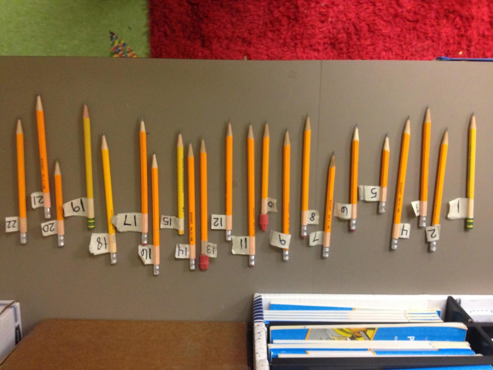 Guest blog post from Amy at Teaching in Blue Jeans who writes about Disappearing Pencil Woes today!