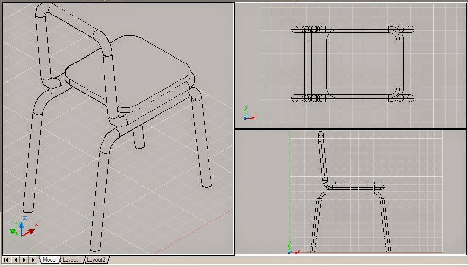 47 Membuat Gambar Kursi 3 Dimensi HD Terbaru