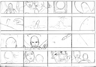 "©2013 Snow Patrol's ""The Lightning Strike"" Storyboards (3 of 6). Artwork by Dulani Wilson. All rights reserved to respective owners."