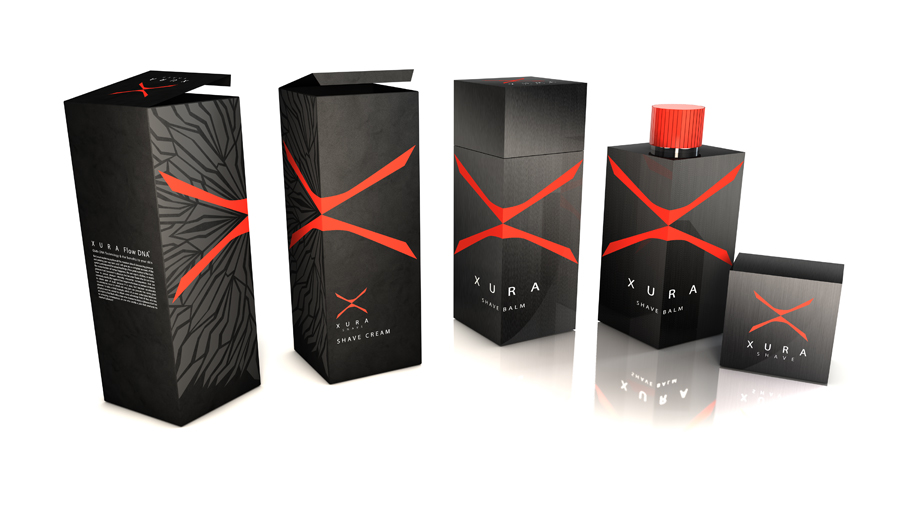 Xura Mens Skin Care On Packaging Of The World Creative