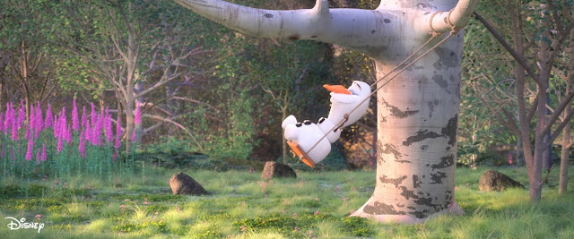 """#DisneyMagicMoments, At Home With Olaf - """"Swing"""", Disney, Frozen, Frozen 2"""