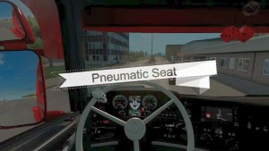 ETS2 Pneumatic Seat Mod