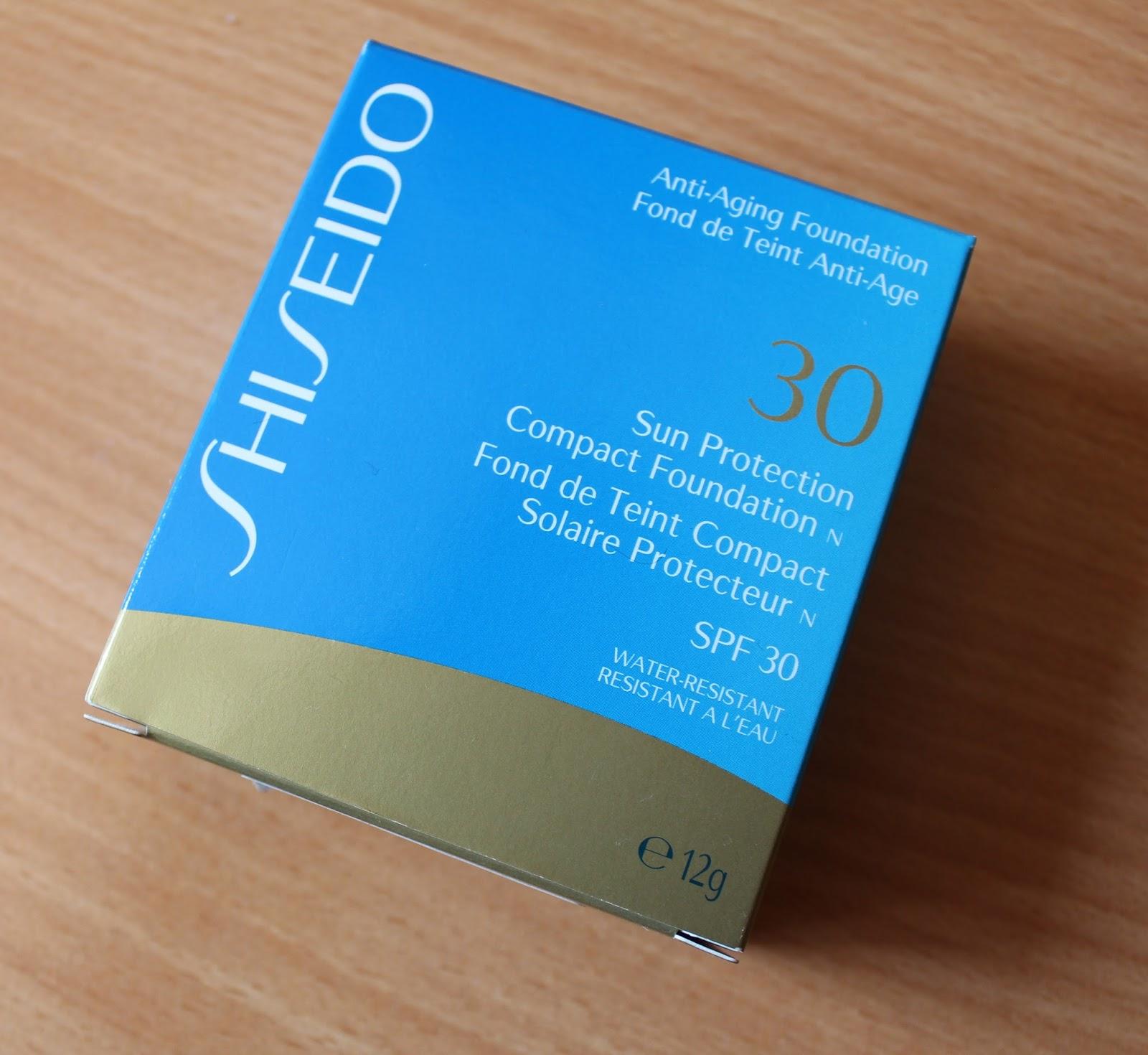 Shiseido Sun Protection podloga u kamenu u nijansi SP60