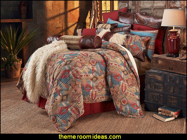 Ruidoso by HiEnd Accents HomeMax southwestern bedding southwestern decorating ideas