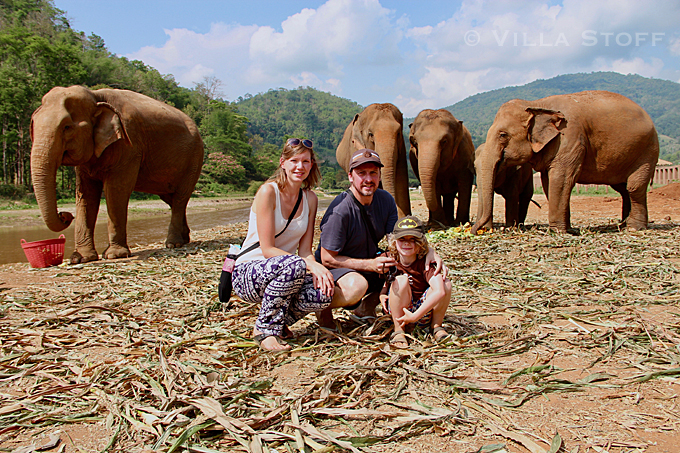 unsere Weltreise mit Kind • Elephant Nature Park, Chiang Mai, Thailand