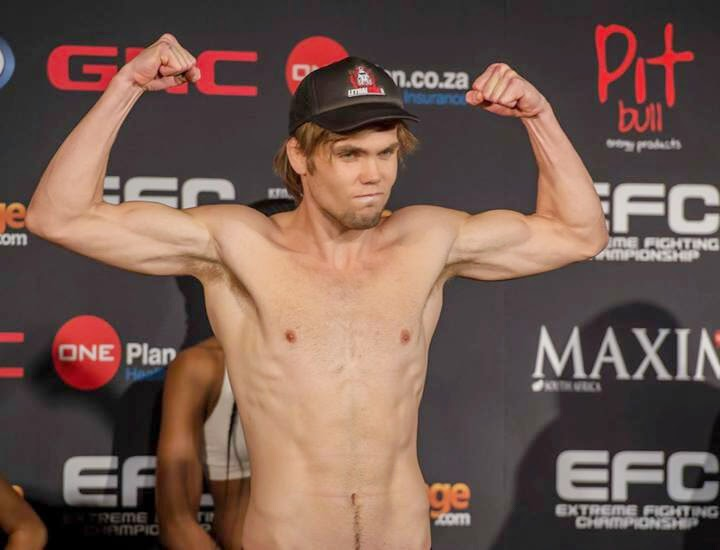 EFC 32 - Pre Fight Interview with Shaun De Lange