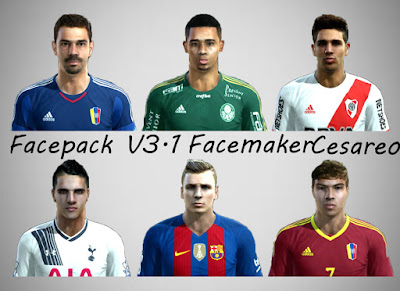New Facepack V3.1 - Pes 2013