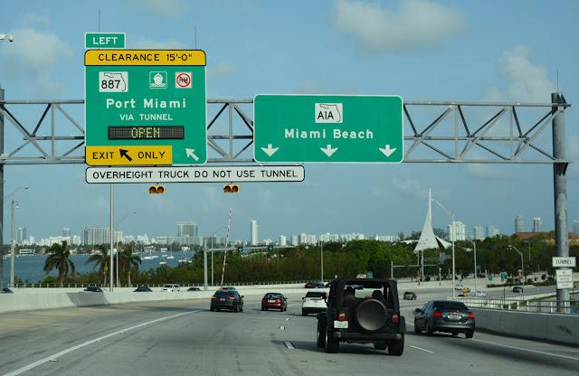 A1A North na Costa de Ouro em Miami