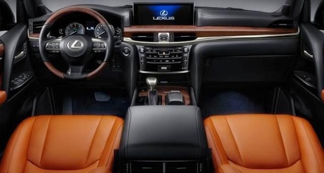 2018 Lexus LX 570 Redesign, Release Date