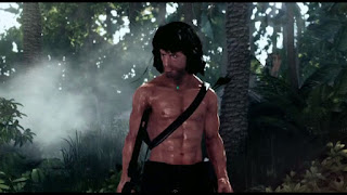 image du jeu Rambo the video game, screen de rambo