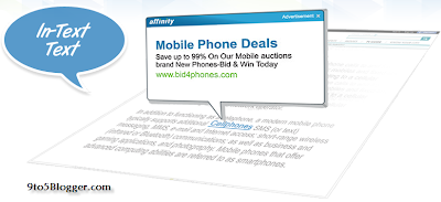 Affinity In Text Ads