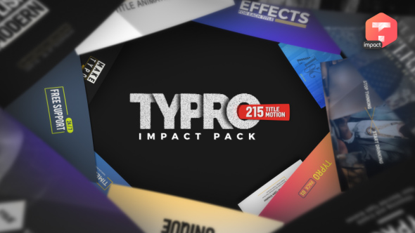 Videohive typro impactpack 215 title animations free download typro impactpack 215 title animations 20761549 videohive free after effects template maxwellsz