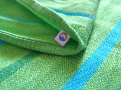 Woven Wrap Little Frog