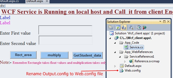 How to Deploy WCF Services on your Local Network and access it
