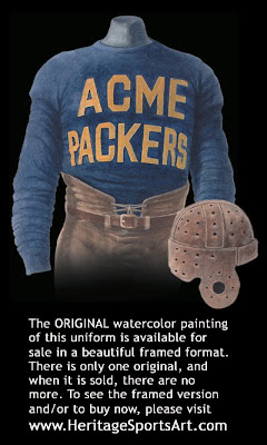 Green Bay Packers 1921 uniform - Acme Packers 1921 uniform
