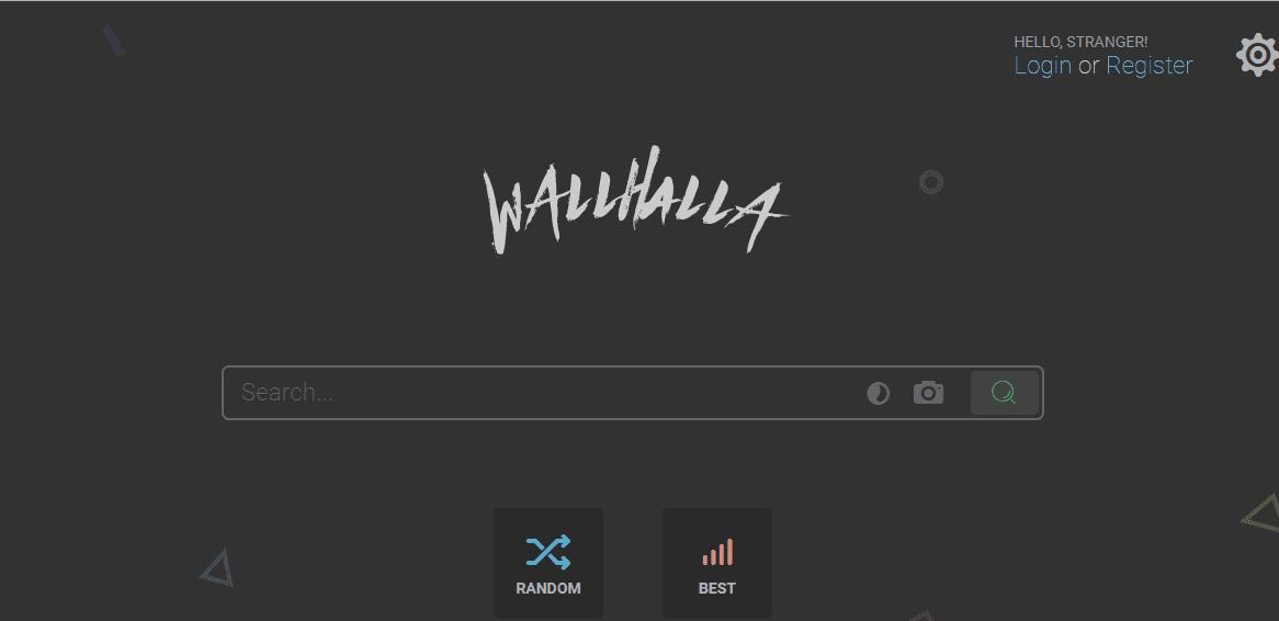 Wallhalla 免費桌布搜尋引擎