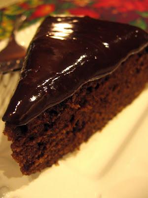 Cookin Up North Fudge Cake With Chocolate Ganache 12