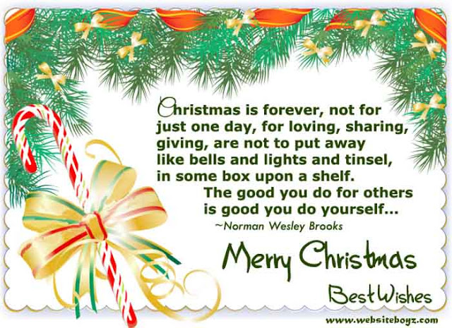 HAPPY CHRISTMAS DAY POEMS