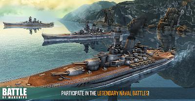 Download Battle of Warships Mod Apk Infinite Gold 1.28 Terbaru
