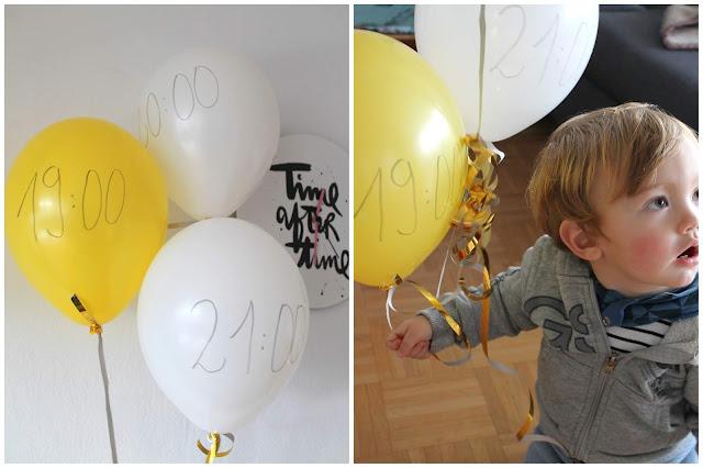 Conutdown Ballons Bestes Silvester mit Kindern Tipps und Tricks Countdown Bags Spielideen Jules kleines Freudenhaus