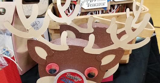 Rudolph K-Cup Holder - Coffee Lovers Blog Hop