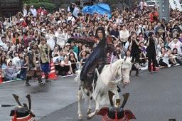 謙信公祭・GACKT・ガクト謙信出陣!