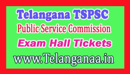 TSPSC 2017 Departmental Tests Exam Hall Tickets Download