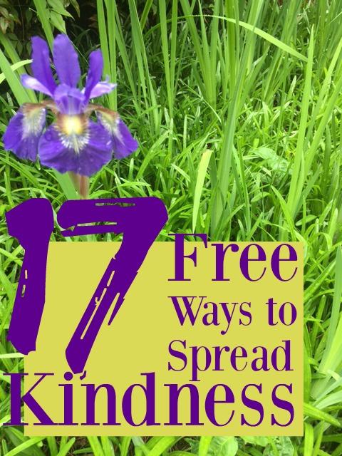 17 free ways to spread kindness