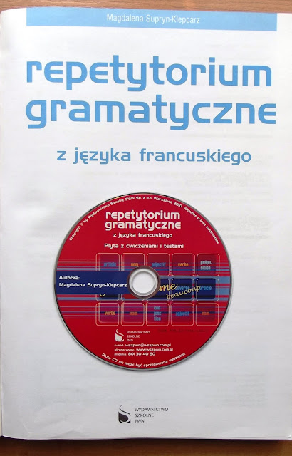 """Recenzje #2 - """"Repetytorium gramatyczne z języka francuskiego"""" - książka z płytą CD - Francuski przy kawie"""