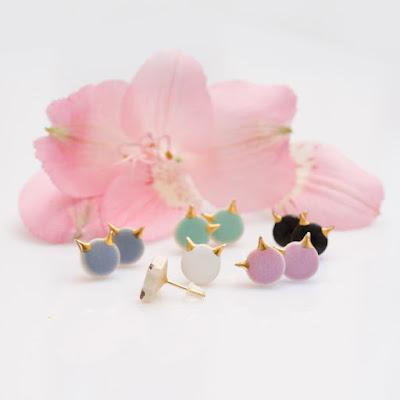 Zu Design, joyería handmade, joyas polacas, joyas de cerámica, pendientes de cerámica