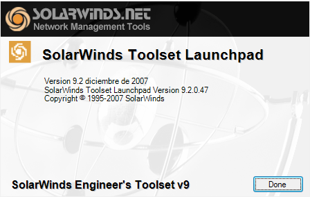 solarwinds engineers toolset v9.2