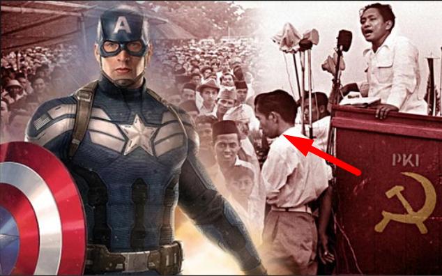 Heboh! Pesan Rahasia Dari Komik Captain Amerika, Hubungan Indonesia dan G30S PKI